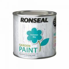 Ronseal Garden Paint Summer Sky 750ml