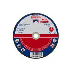 Faithfull Flat Metal Cut Disc 230x3.2x22mm 2303m