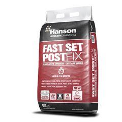 Hanson Fast Set Post Fix 20kg Bag