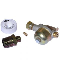 Filter and Isolating Valve for Plastic Oil Tanks