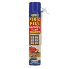 Everbuild Fix & Fill Expanding Foam H/Held 500ml - EVFF5