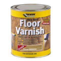 Everbuild Floor Varnish Clear
