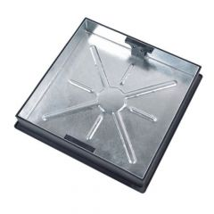 Galvanised Recessed Paving Manhole Cover & Frame 10T