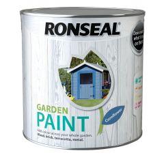Ronseal Garden Paint-2.5 Litres-Cornflower