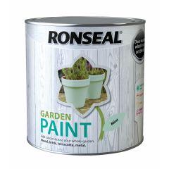 Ronseal Garden Paint-2.5 Litres-Mint