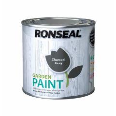 Ronseal Garden Paint-250ml-Charcoal Grey