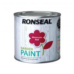 Ronseal Garden Paint-750ml-Moroccan Red