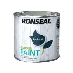 Ronseal Garden Paint-250ml-Blackbird