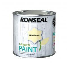 Ronseal Garden Paint-250ml-Elderflower