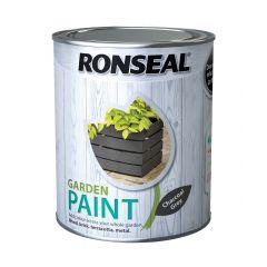 Ronseal Garden Paint-750ml-Charcoal Grey