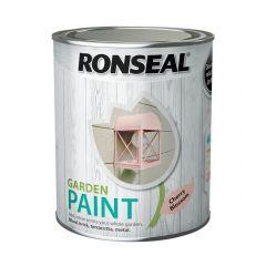 Ronseal Garden Paint-750ml-Cherry Blossom