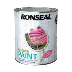 Ronseal Garden Paint-750ml-Pink Jasmine