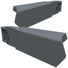 Manthorpe GLV-LH Linear Dry Verge Left Hand Grey