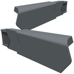 Manthorpe GLV-RH Linear Dry Verge Right Hand Grey