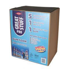 Dow Great Stuff Pro Gun Foam Fixer Kit