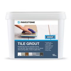 Pavestone Tile Grout Silver Grey 10kg - 06 110 006