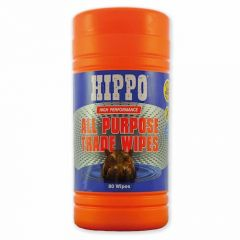 Hippo All Purpose Trade Wipes (Plastic Tub of 80) - H18710