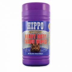 Hippo Heavy Duty Trade Wipes (Plastic Tub of 80) - H18711