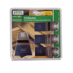 Smart Trade 4 Piece Multitool Blade Set - H4MAK