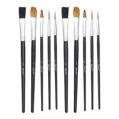 Pk 10 Harris Seriously Good Flat Artist Paint Brush - 102041002