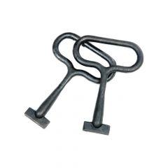 Heavy Duty Manhole Cover Lifting Keys (Pair)