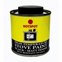 Hotspot Matt Stove Paint Brush On 100ml - 201010