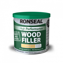Ronseal 2 Part High Performance Wood Filler 275g-White