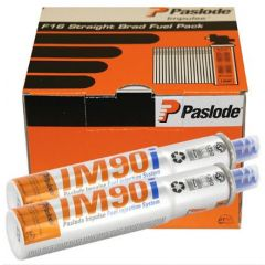 Paslode Im90i Galv-Plus Ring Nails (2500)+ 2 Fuel Cells