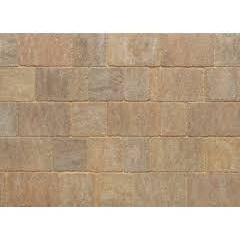 Stonemarket Trident Rumbled Concrete Block Paving-Forest Blend-120x160x50mm