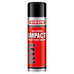 Evo Stik Impact Adhesive Tin Spray 500ml - 348318