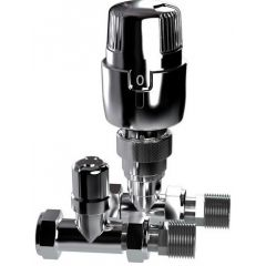 Inta i-therm Straight TRV/LS Pack - All Chrome
