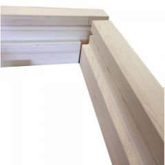 "Door Lining Set 2'6""/2'9"" Whitewood C/W Loose Stop 32x100mm (27x94 fin) - D032100S9"