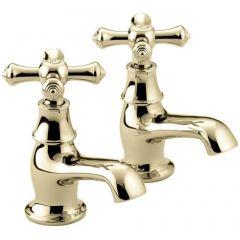 Bristan Colonial Gold Effect Bath Tap K 3/4 G