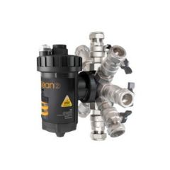 Intaklean 2 Magnetic Filter with Isolating Ball Valves 22mm IK2MF22