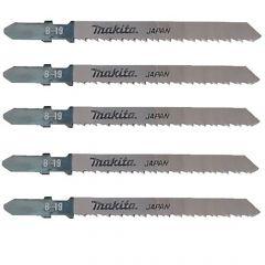 Makita B-19 Clean Cut Wood Jigsaw Blade (Pack of 5) A-85715