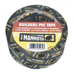 Mammoth Builders PVC Tape 75mmx33m
