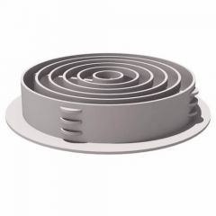 Manthorpe G700WH Circular Soffit Vent White