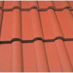 Marley Double Roman Roof Tiles-Mosboro Red
