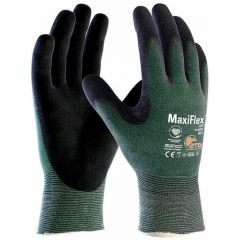 ATG MaxiFlex Cut Lightweight Palm-Coated 34-8743 Gloves (Size 8 Medium)