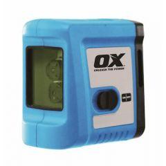 Ox Pro Indoor Green Cross Line Laser 20m Range - P504701