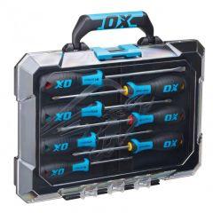 Ox Pro 7 Piece Screwdriver Set With Case OX-P360207