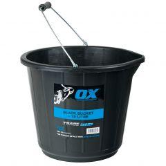 Ox Trade 15L Black Bucket Ox-T110715