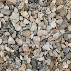 LRS Poly Bag Oyster Pebbles 10-40mm
