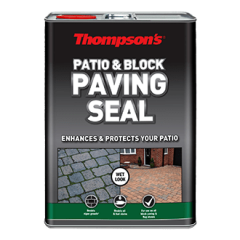 Thompsons Patio & Block Paving Seal Wet Look 5L
