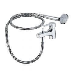 Ideal Standard Calista Single Lever 1 Tap Hole Bath Shower Mixer Tap - B1958AA