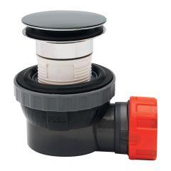 Wirquin Nano 6.7 Quick Clac Solid Dome Basin Waste & Trap - 30120520