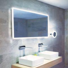 HIB Globe 120 LED Bathroom Mirror