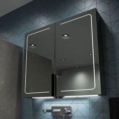 HIB Vapor 60 Mirrored Bathroom Cabinet