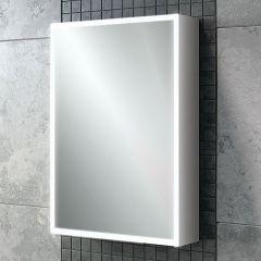 HIB Qubic 50 Mirrored Bathroom Cabinet