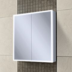 HIB Qubic 60 Mirrored Bathroom Cabinet